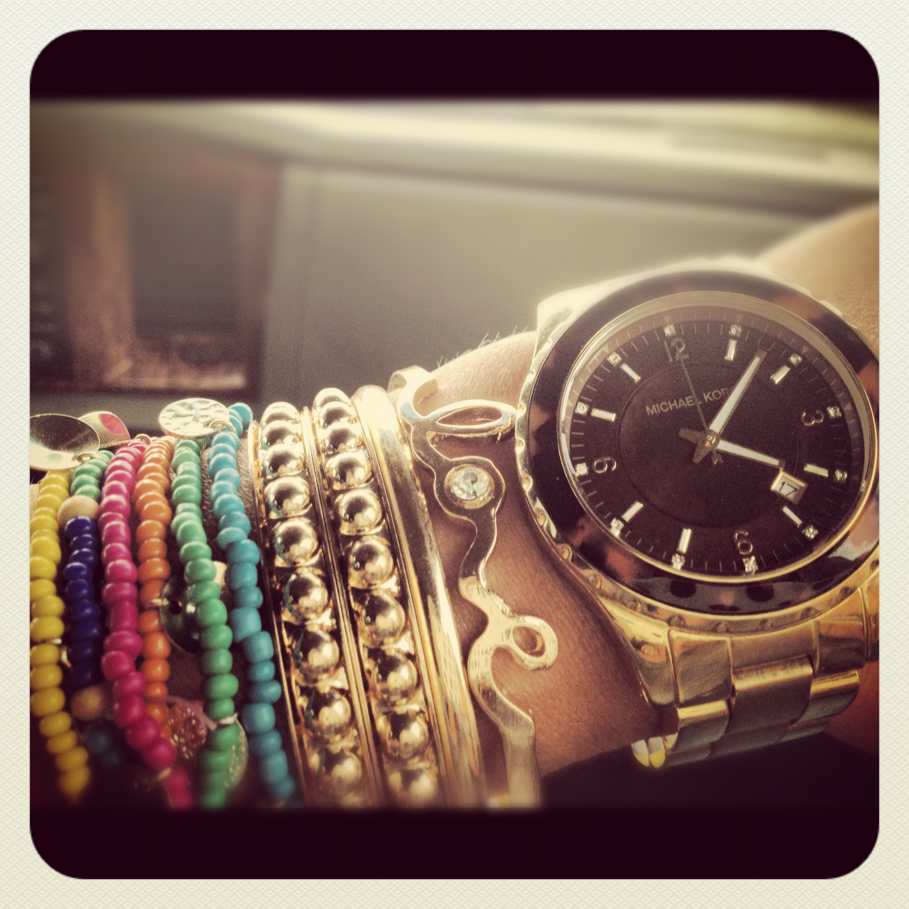 25d7ae34b6a9 You have probably noticed that I am almost always wearing a Michael Kors  watch ...