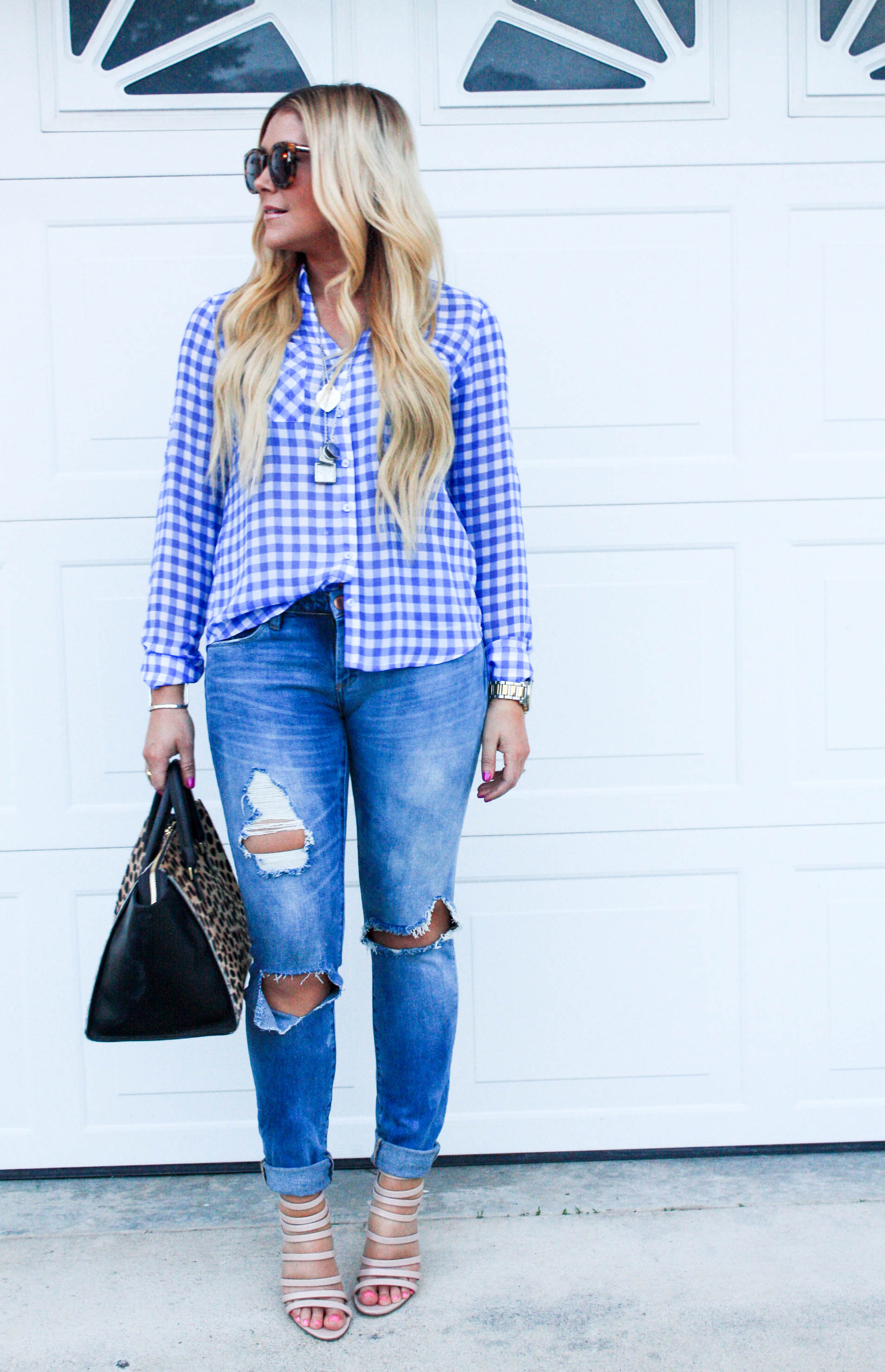 a691b0779ea0 Gingham Shirt  Express (these are THE BEST shirts ever and come in TONS of  colors!)