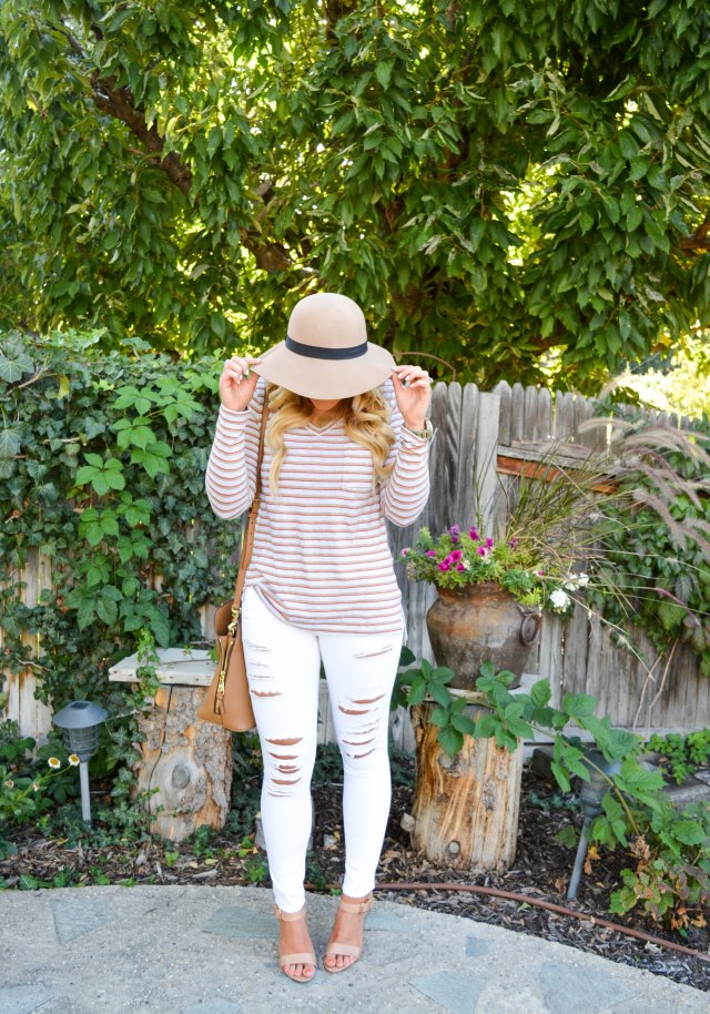 nyx lipgloss, nordstrom hat, bp hat, fall fashion, utah blogger