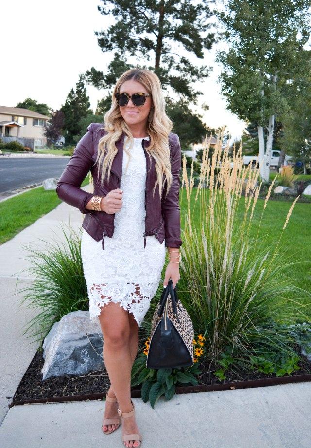 fall fashion, karen walker sunglasses, nude heels, leopard bag