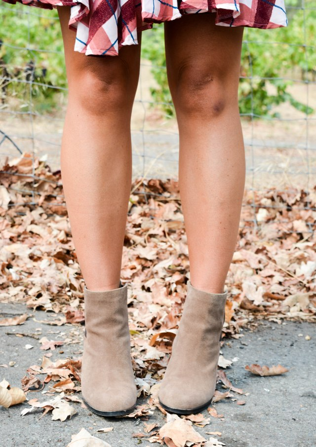 vince camuto booties, vince camuto, suede booties, fall booties